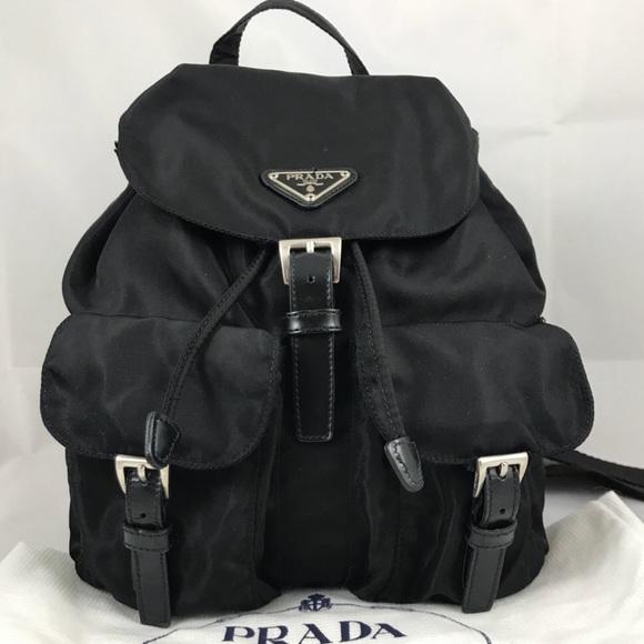 4930fdcf5b12 Authentic Prada Nylon Vela Backpack. M_5a39e2085521be7da803113e